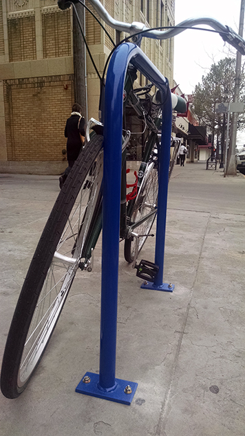 Billings Bike Montana Staple Rack Bicycle Parking